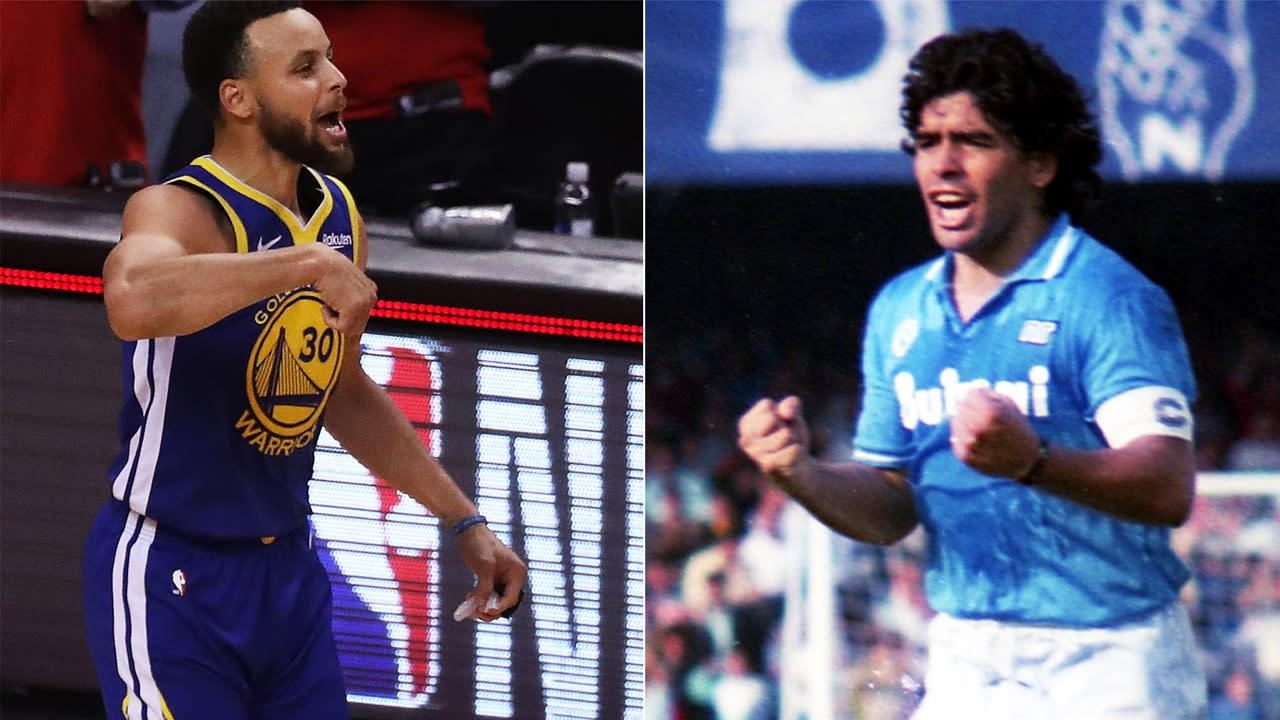 Steph Curry, Maradona'nın Favori NBA Oyuncularından Biriydi