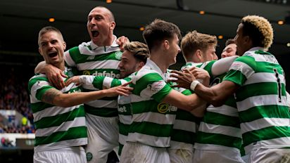 Celtic humiliate Rangers 5-1 to equal their biggest victory at Ibrox