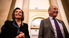 Schumer and Pelosi say they're still barreling ahead without the GOP on a multitrillion-dollar social spending package in July