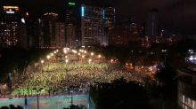 Crowd in Hong Kong Defies COVID-19 Gathering Ban for Tiananmen Square Anniversary Vigil