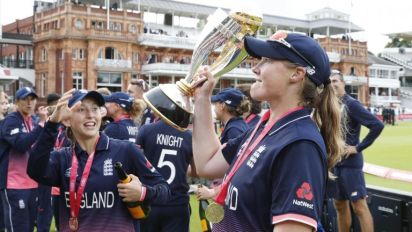 England's Anya Shrubsole 'lost for words' after World Cup winning display against India at Lord's