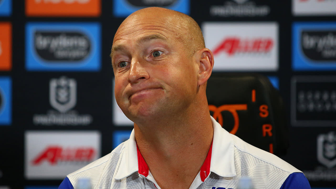 Knights' season hits new low after Nathan Brown offer