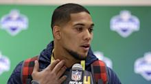 NFL draft: Cancer survivor James Conner stays home, drafted by Steelers