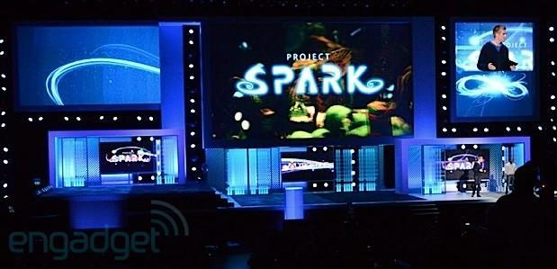 Project Spark lets users build game worlds with Kinect voice control and SmartGlass