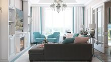 The glamorous American-style apartment
