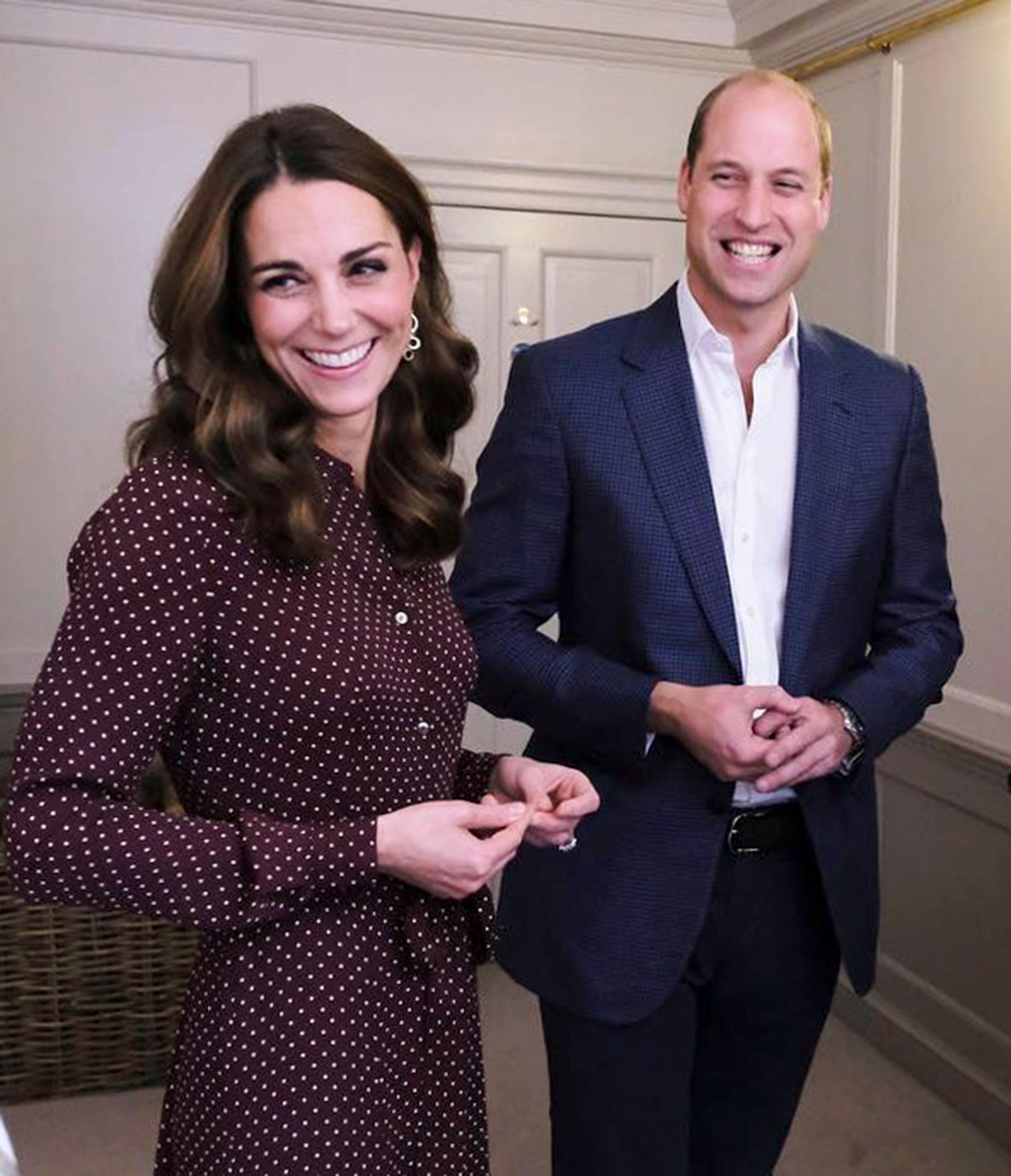 Watch Prince William Reassure Children On Kate Middleton's