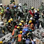Hopes fade for people trapped under rubble after deadly Mexico City earthquake
