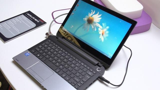 First Look: Toshiba Satellite W30T (Click): a 13.3-inch tablet-laptop hybrid with plenty of storage