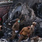 Pakistan plane crash survivor: 'All I could see was fire'