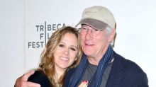 Richard Gere Cuddles Up with His Wife Alejandra During First Public Outing Since Welcoming Son