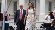 Donald and Melania Trump slammed for 'hypocritical' Labour Day post