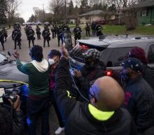Tensions erupt near Minneapolis after police kill 20-year-old Duante Wright