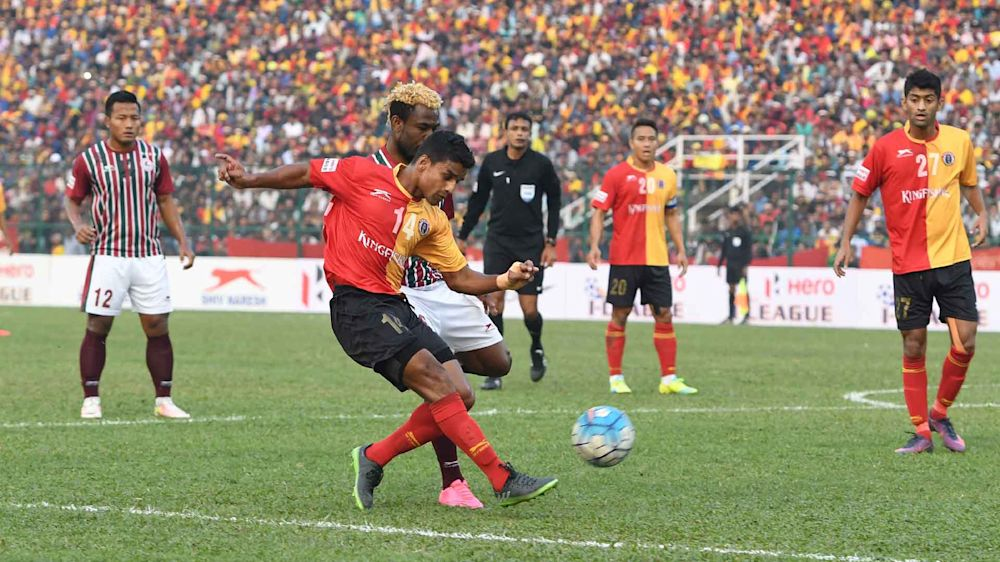 I-League 2017: Mohun Bagan plan on spoiling East Bengal's Mehtab Hossain's potential last Kolkata Derby
