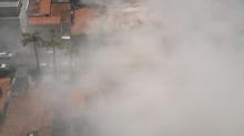 Circula na web selfie que jovem teria feito embaixo de escombros em Fortaleza; veja imagem