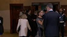 El significativo gesto de Letizia a Felipe VI momentos antes del Princesa de Asturias