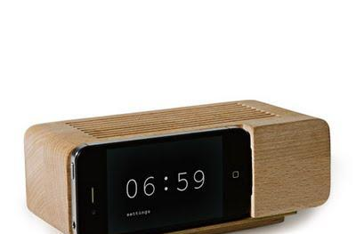 Alarm Dock gives your iPhone retro cred