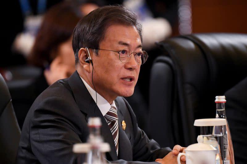 S.Korea's Moon offers DPRK broader inter-Korean cooperation