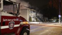 People forced from their homes during overnight fires in Saint-Jean-sur-Richelieu