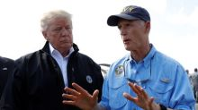 Trump to get helicopter view of hurricane-hit Florida Panhandle