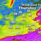"""""""Bomb cyclone"""" sets record as strongest October storm ever in Boston area"""