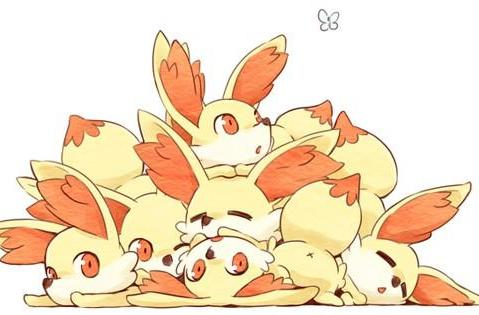 Pokémon X/Y fanart fans the flames of Fennekin fervor