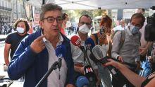 """Rentrée syndicale : à Marseille, Mélenchon dénonce """"les imprévisions"""" du gouvernement"""