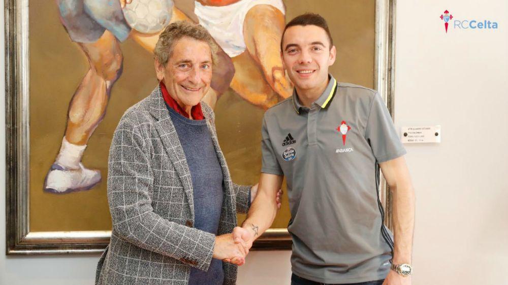 Iago Aspas renueva con el Celta hasta 2022