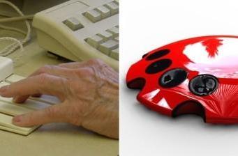 Engelbart's chorded keyboard reborn as stunning red jellyfish