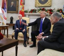Trump meeting with Pelosi and Schumer descends into chaos as president threatens to shut government over border