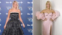 Holly Willoughby's two Dancing on Ice launch dresses a hit: 'As priceless as HM's crown'