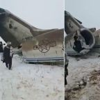 Afghanistan plane crash: US military investigating crash in Ghazni province