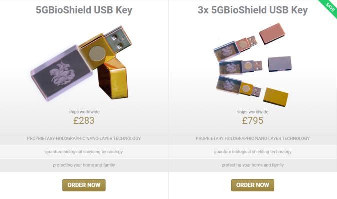 Bioshield USB Stick
