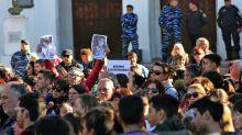 Dolor y pedido de justicia en la marcha por las víctimas de San Miguel del Monte
