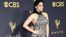 Ariel Winter's sheer Emmys dress had two dangerously high leg slits