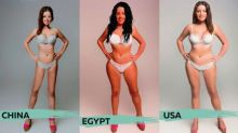 A Woman's Body is Photoshopped into 18 Countries' Ideals