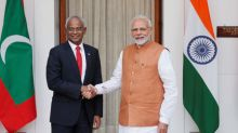 India's Modi announces $1.4 billion financial aid to Maldives