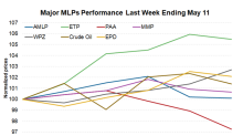 MLPs Recover on Back of Strong Gains in Crude Oil Prices