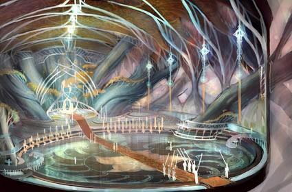 LotRO Volume II: Book 7 concept art depicts Elven beauty