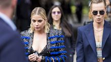 Cara Delevingne & Ashley Benson Attended Paris Fashion Week Together