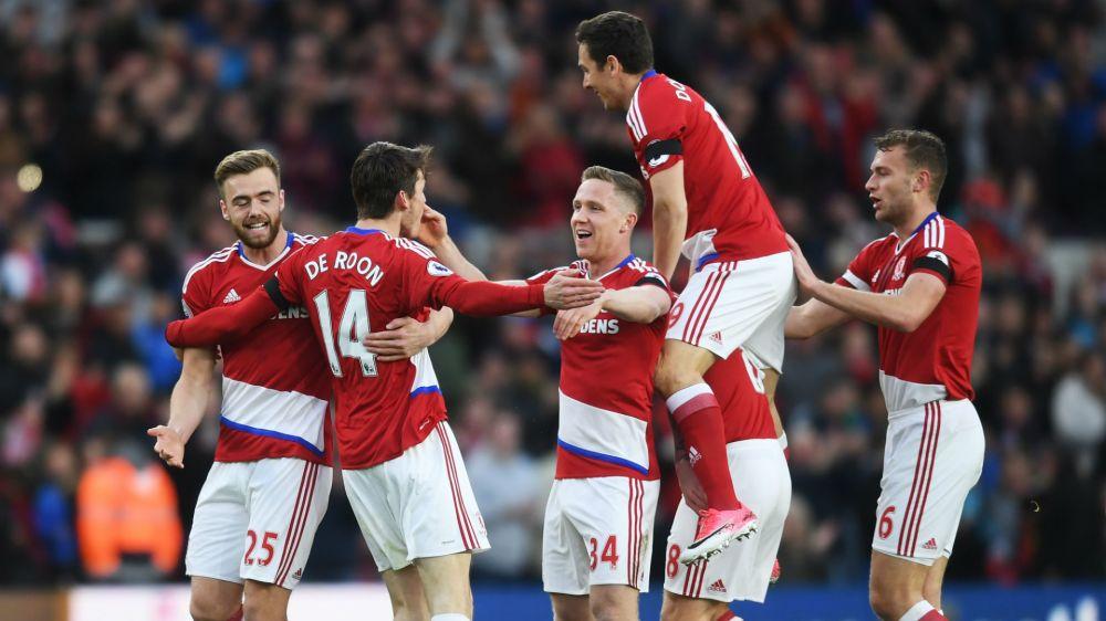 Middlesbrough 1 Sunderland 0: De Roon keeps faint survival hopes alive