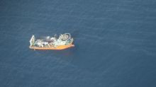 Oil from sunken Iranian tanker diffusing in East China Sea