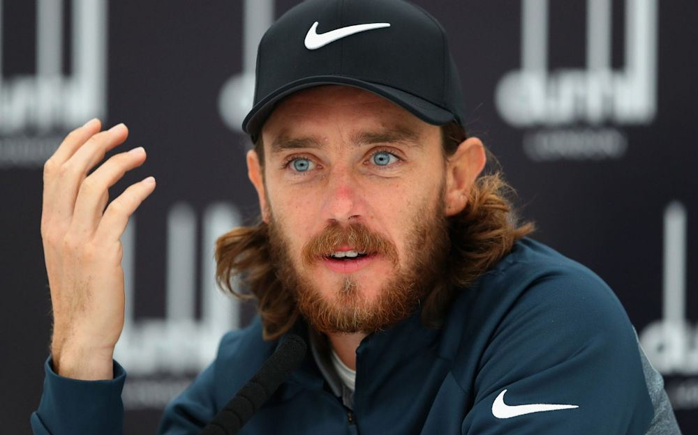 Tommy Fleetwood's partner gave birth to their son last Friday - Getty Images Europe