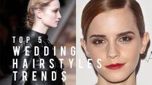 分析 5 大新娘髮型潮流!這些編髮,比魚骨辮更唯美優雅!