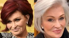Yahoo readers weigh in after Sharon Osbourne shows off new hair color
