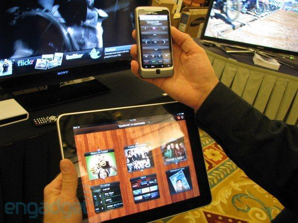 Yahoo! Connected TV setups draw web, TV closer in 2012 with mobile apps, IntoNow
