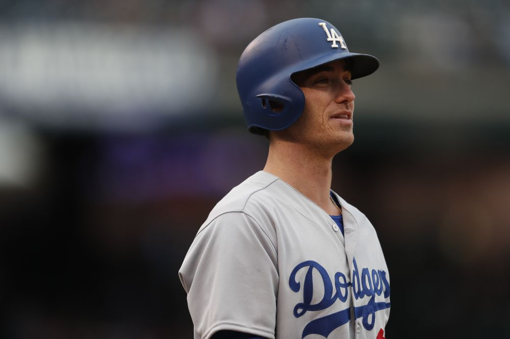 Dodgers rookie Cody Bellinger is hoping to help the Dodgers win their first World Series since 1988. (AP)