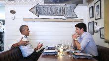 Barack Obama and Justin Trudeau Reunite with a Bromantic Dinner Date