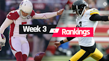 Week 3 Fantasy Kicker Rankings