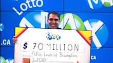 'Lucky guy': Ontario man wins $70M in biggest jackpot in Canadian history