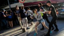 Police use tear gas to disperse crowds during pride march in Turkey